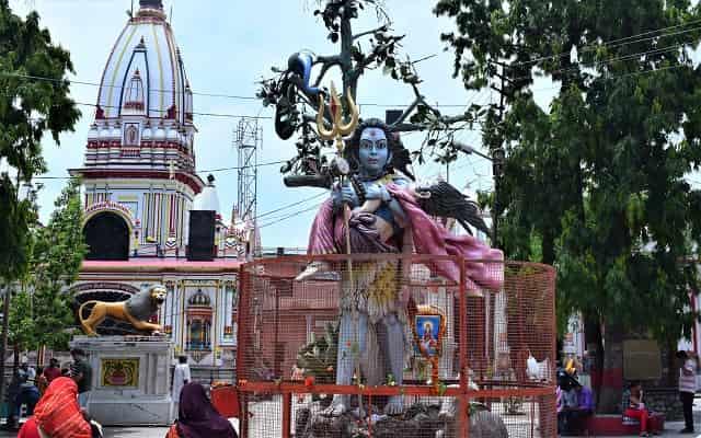 Daksh Mahadev Temple Haridwar in Hindi दक्ष महादेव मंदिर कनखल हरिद्वार