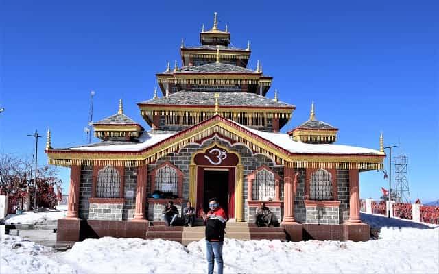 Surkanda Devi Temple in Hindi सुरकंडा देवी मंदिर 51 शक्ति पीठ में शामिल है