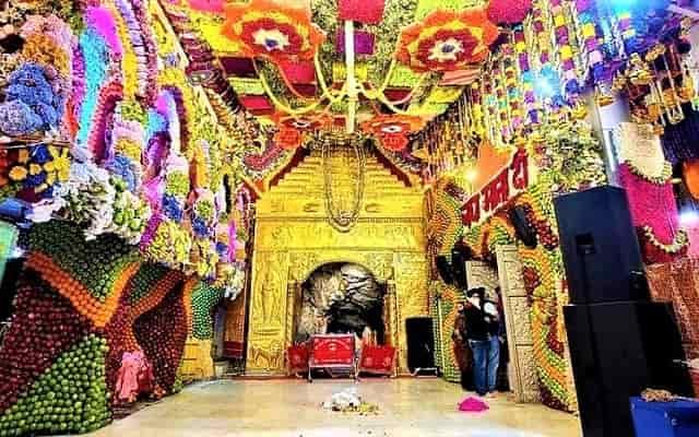 Mata Vaishno Devi Navratri Decoration 2021